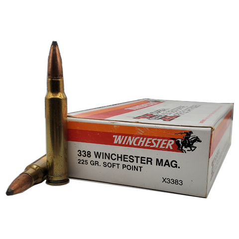 338 Win Mag - Winchester Super-X 225 Grain Soft Point