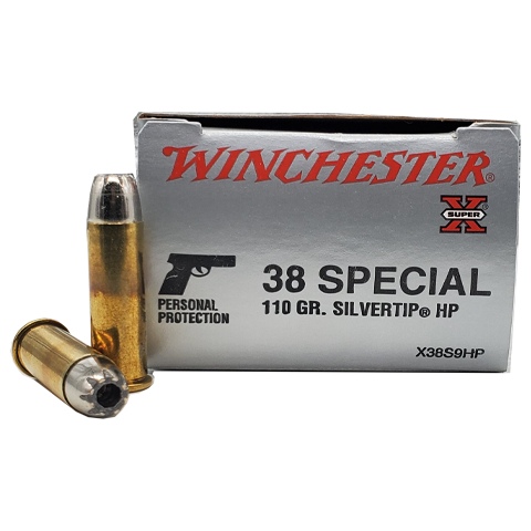 38 Special - Winchester Super-X Silvertip HP