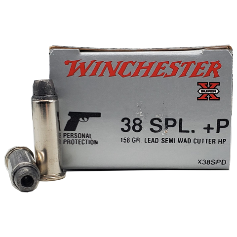 38 Special - Winchester Super-X Lead Semi-Wadcutter HP