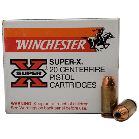 40 S&W - Winchester Super-X Jacketed Hollow Point