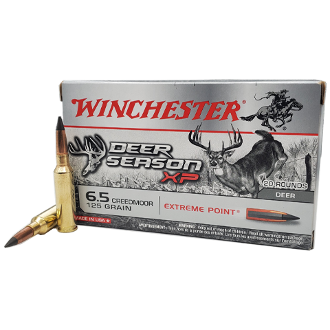 6.5 Creedmoor - Winchester Deer Season XP 125 Grain Extreme Point