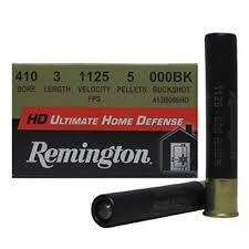"410 Gauge - Remington Ultimate Defense Heavy Density 3"" 000 Buck Shot"