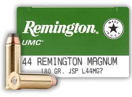 44 Magnum - Remington 180 Grain JSP