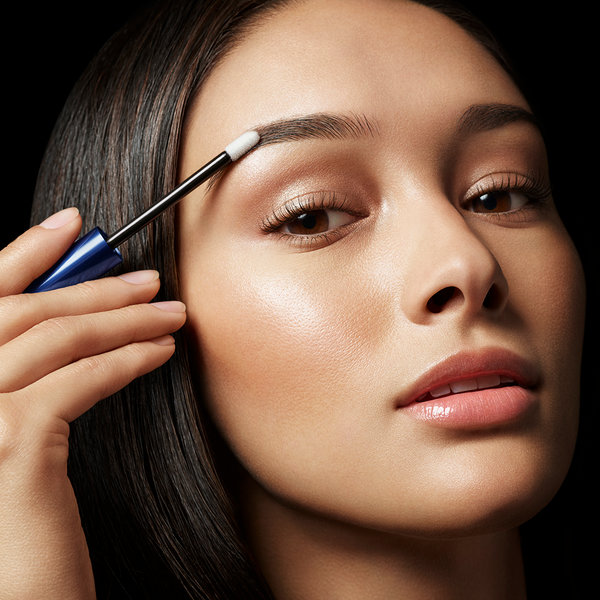Apply a few short strokes of RevitaBrow® Advanced onto each eyebrow. It is not necessary to apply more frequently than once per day. Let dry completely before applying additional beauty products.  Apply daily for best results.