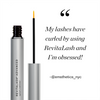 Image of RevitaLash Advanced with a quote by @emsthetics_nyc,