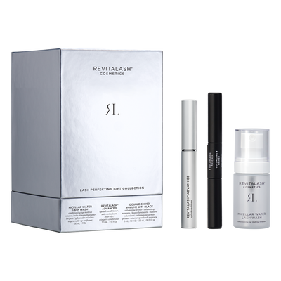 Image of RevitaLash Advanced, Double-Ended Volume Set, and Micellar Water Lash Wash as part of the Holiday Collection