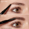 Image of model before and after using Hi-Def Brow Pencil