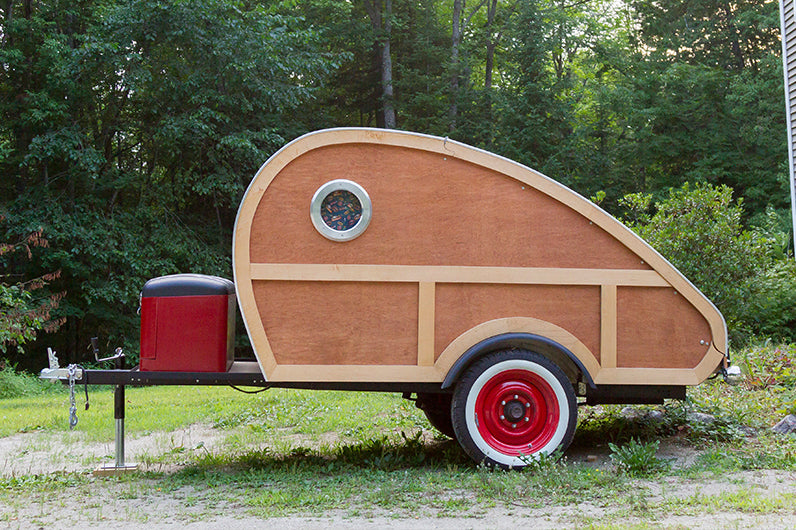 2014 Custom Teardrop Trailer