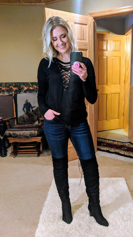 94a6e05ad739 Wearing Over The Knee Boots – Kinlee Rose