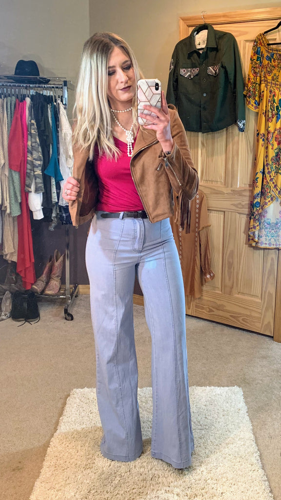 Dolly Wide Leg Flares