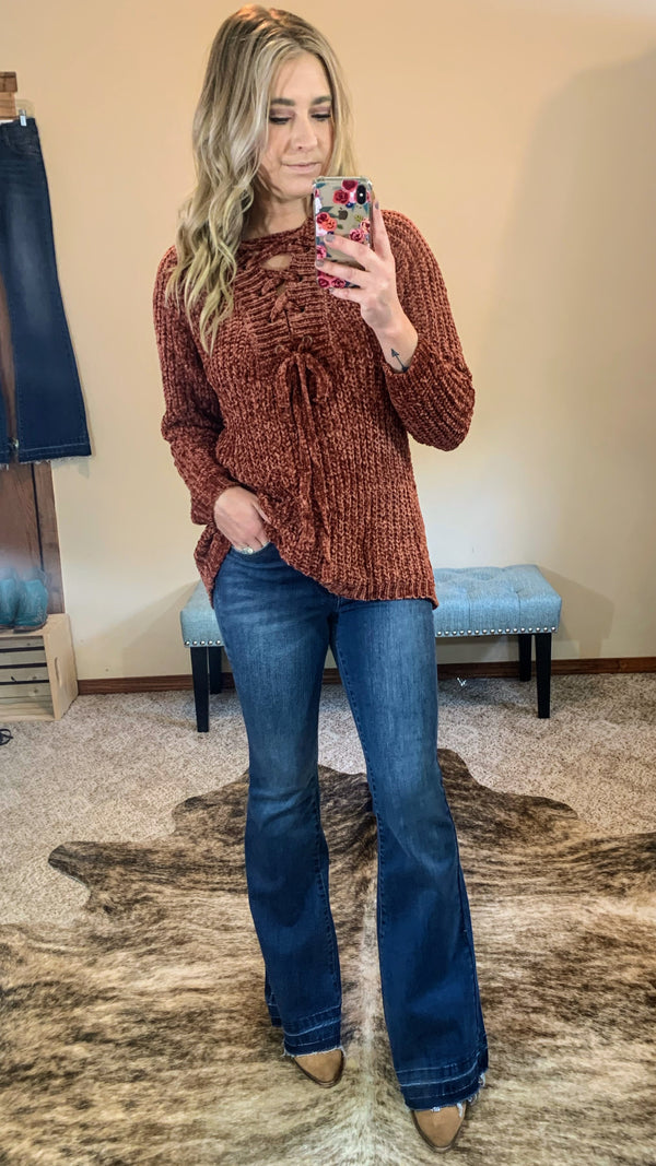 Cinnamon Spice Sweater