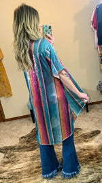 Over The Rainbow Sequin Kimono