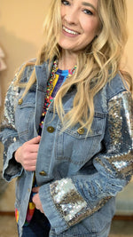 Imma Boss Sequin Denim Jacket