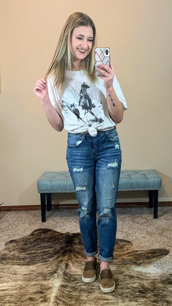 Belle Creek Boyfriend Jeans