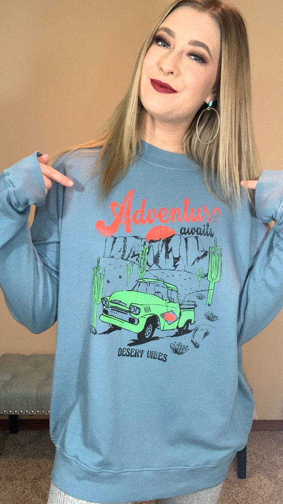 Adventure Awaits Pullover