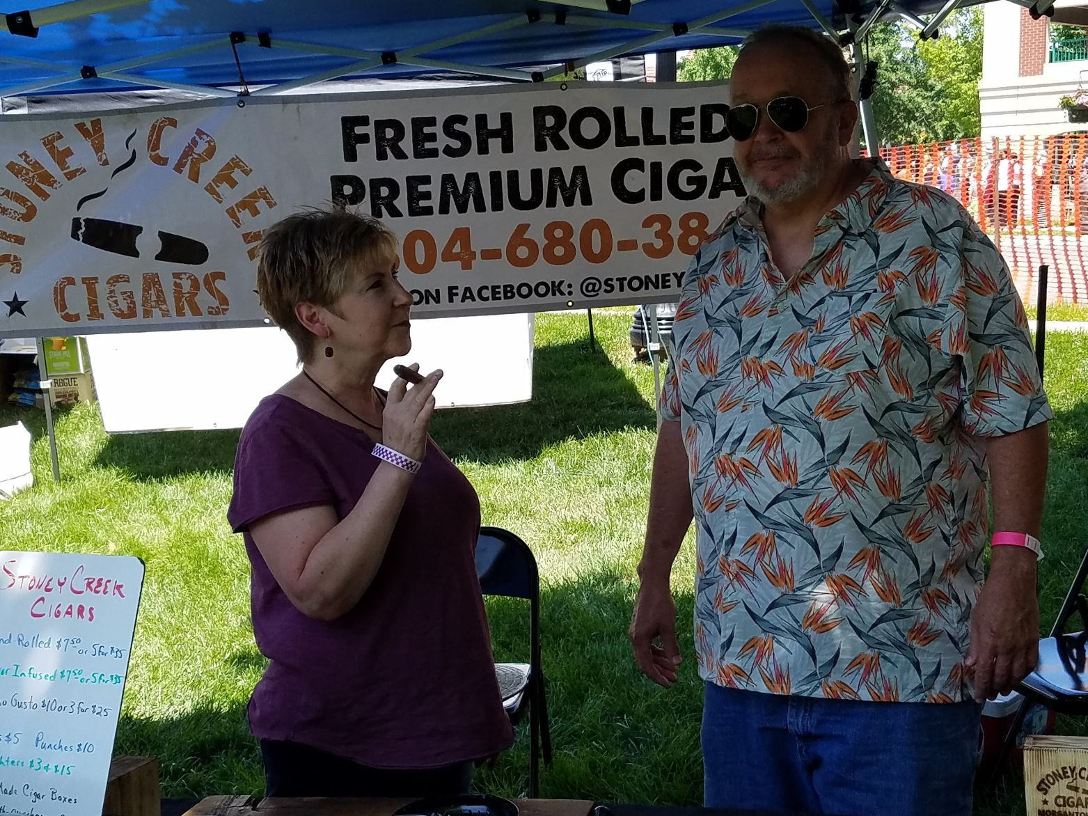 Stoney Creek Cigars PA is Jeff and Becky Kelly based in York County PA
