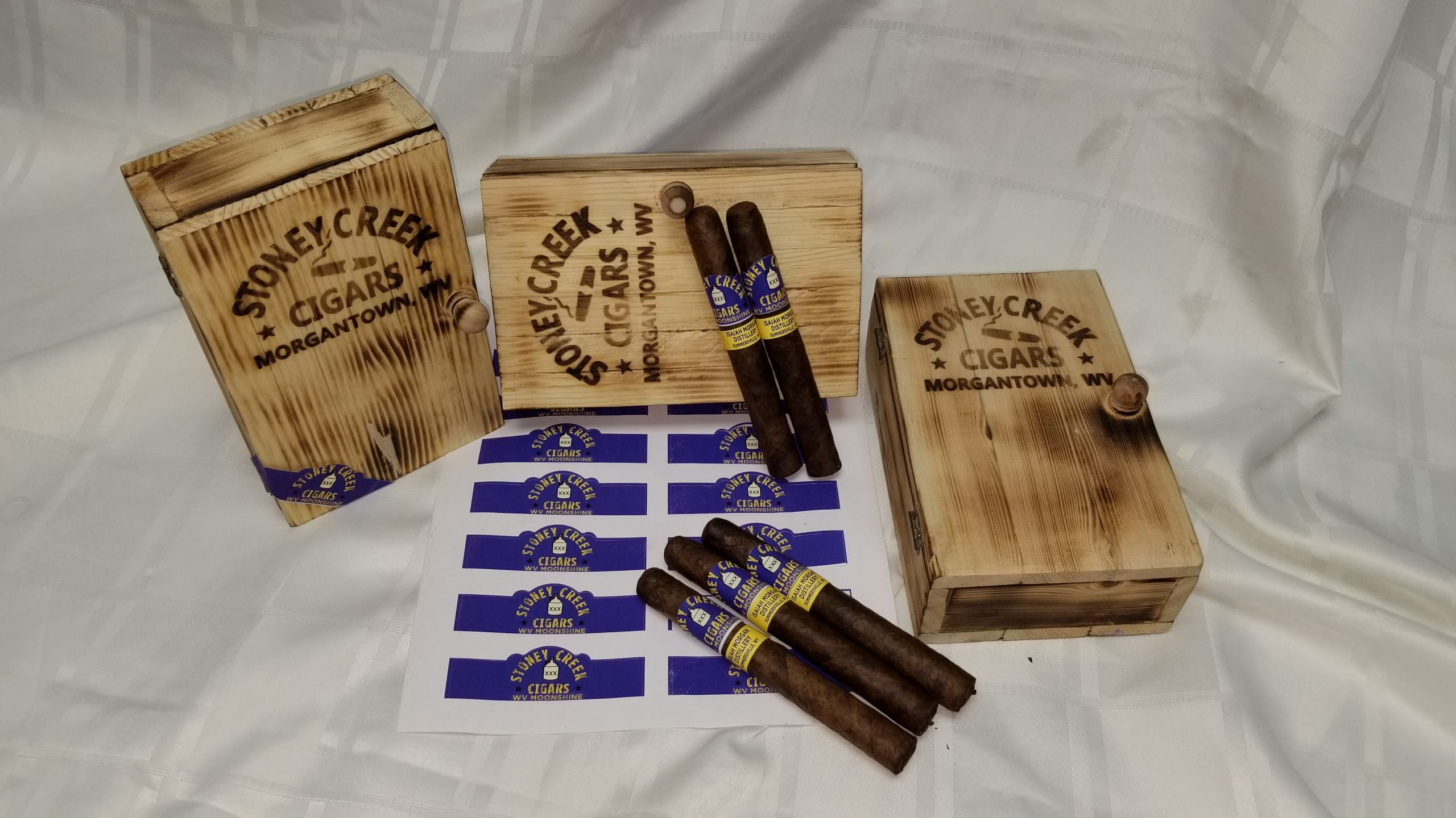 Custom Made Stoney Creek Cigar Box