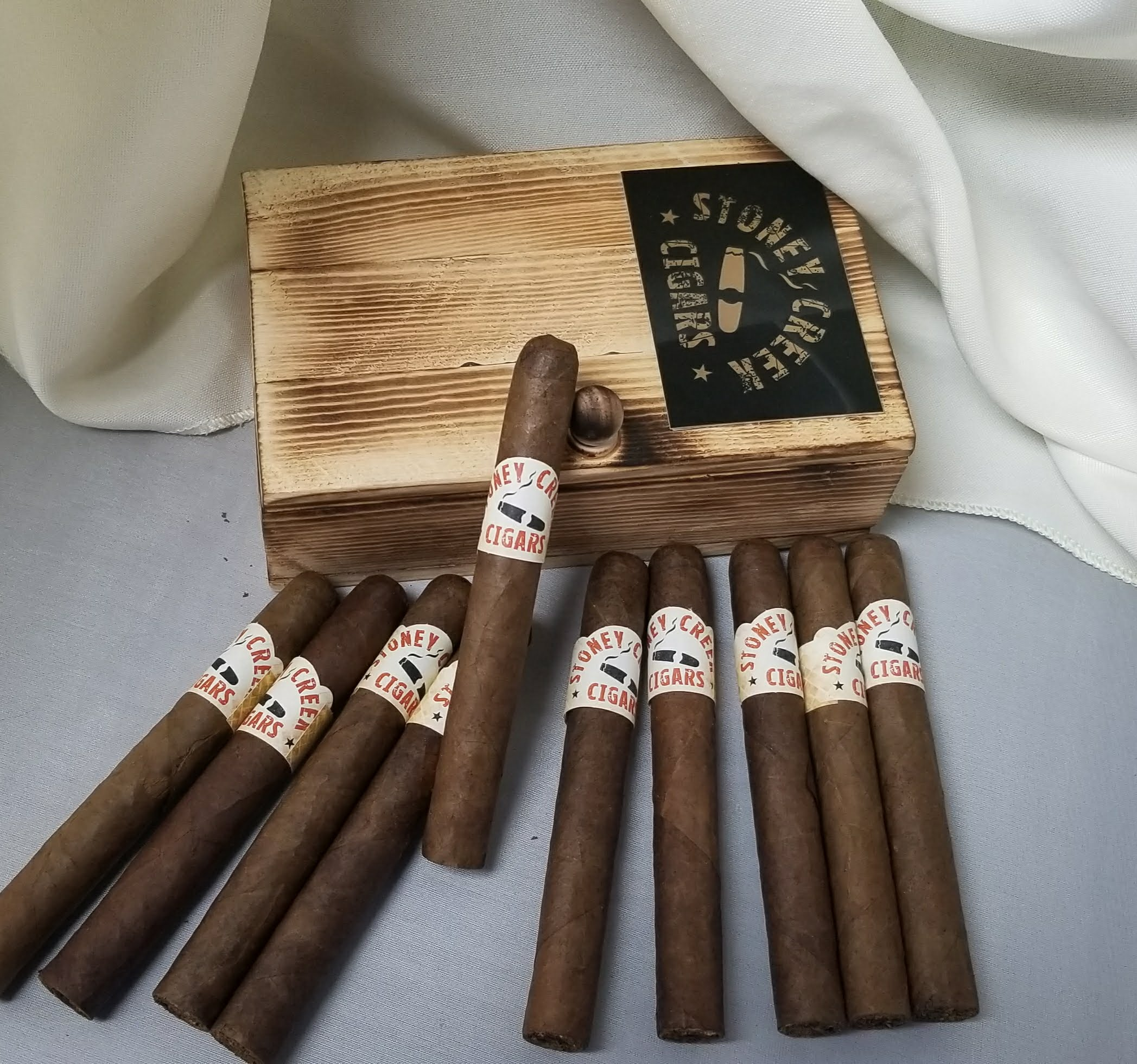 Dominican cigar  - 10 pack <br> includes custom made cigar box