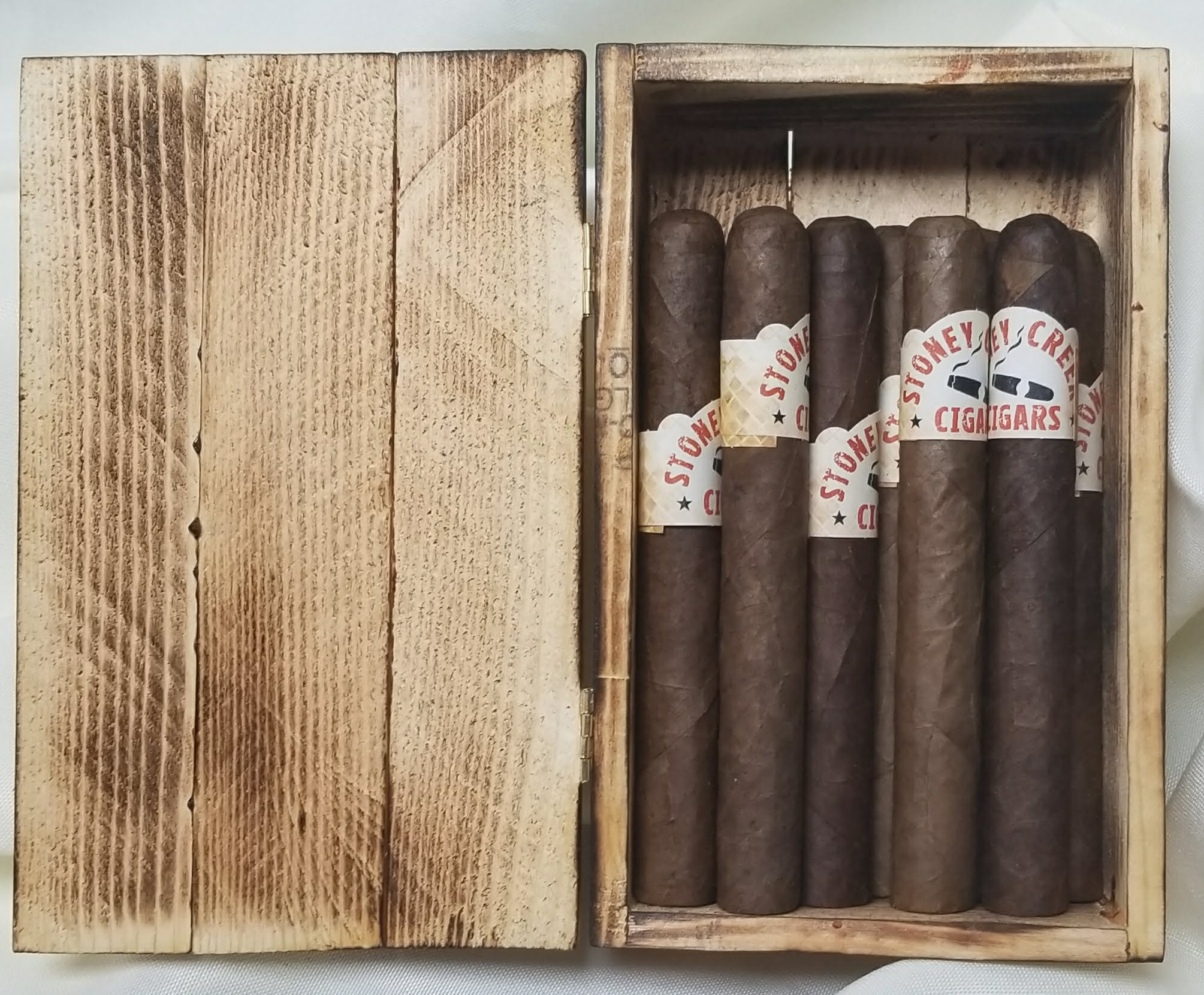 Variety Pack Cigar - 10 pack <br> includes custom made cigar box