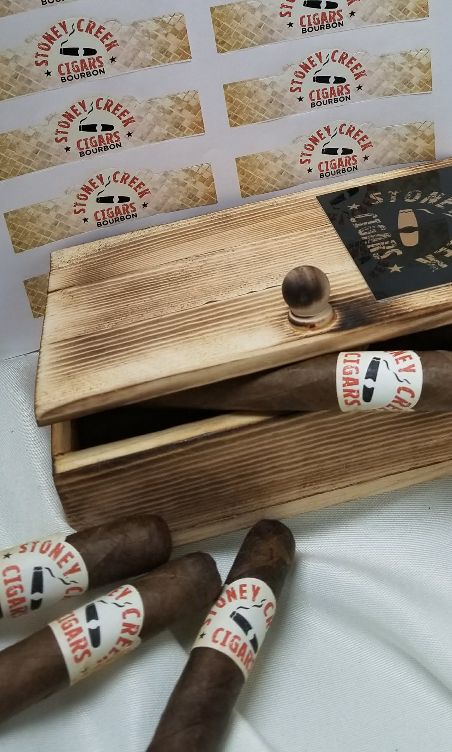Spiced Rum Cigar - 3 Pack