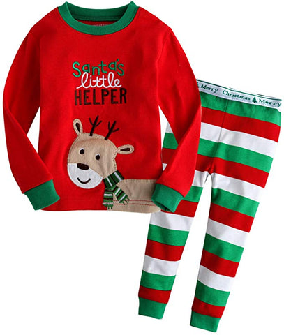 Little Rudolph Long Sleeve Pajama Set
