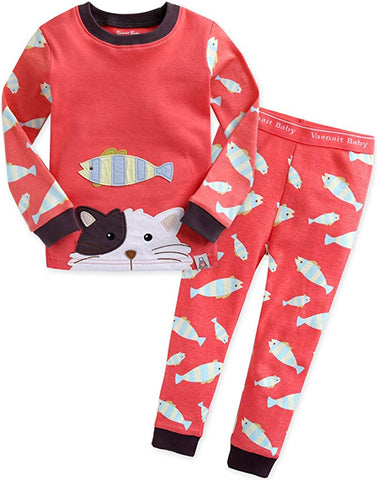 Secret Animal Long Sleeve Pajama Set