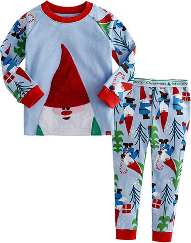 Cozy Elf Long Sleeve Pajama Set