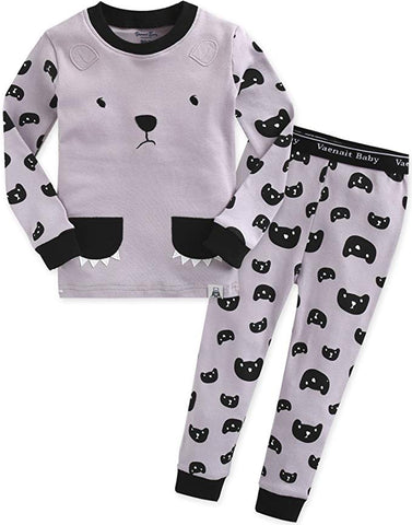 Bear & Me Long Sleeve Pajama Set