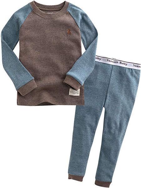 Raglan Long Sleeve Pajama Set