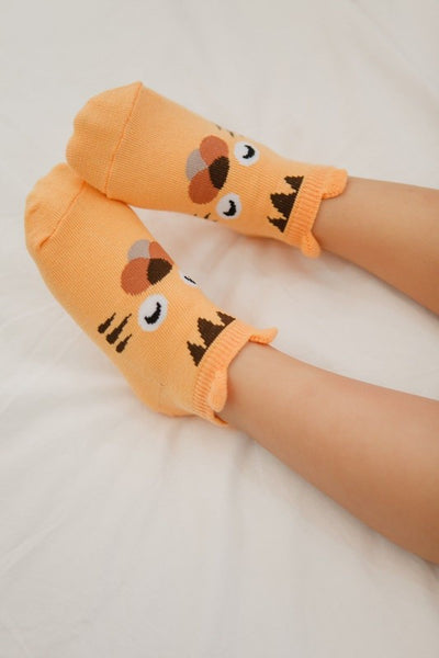 Animal Character Ankle Socks