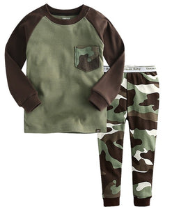Military Long Sleeve Pajama Set