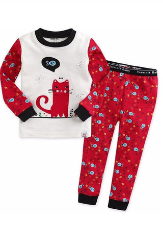 Nero Long Sleeve Pajama Set