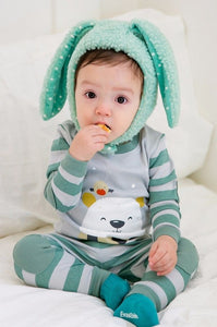 Commong Long Sleeve Pajama Set