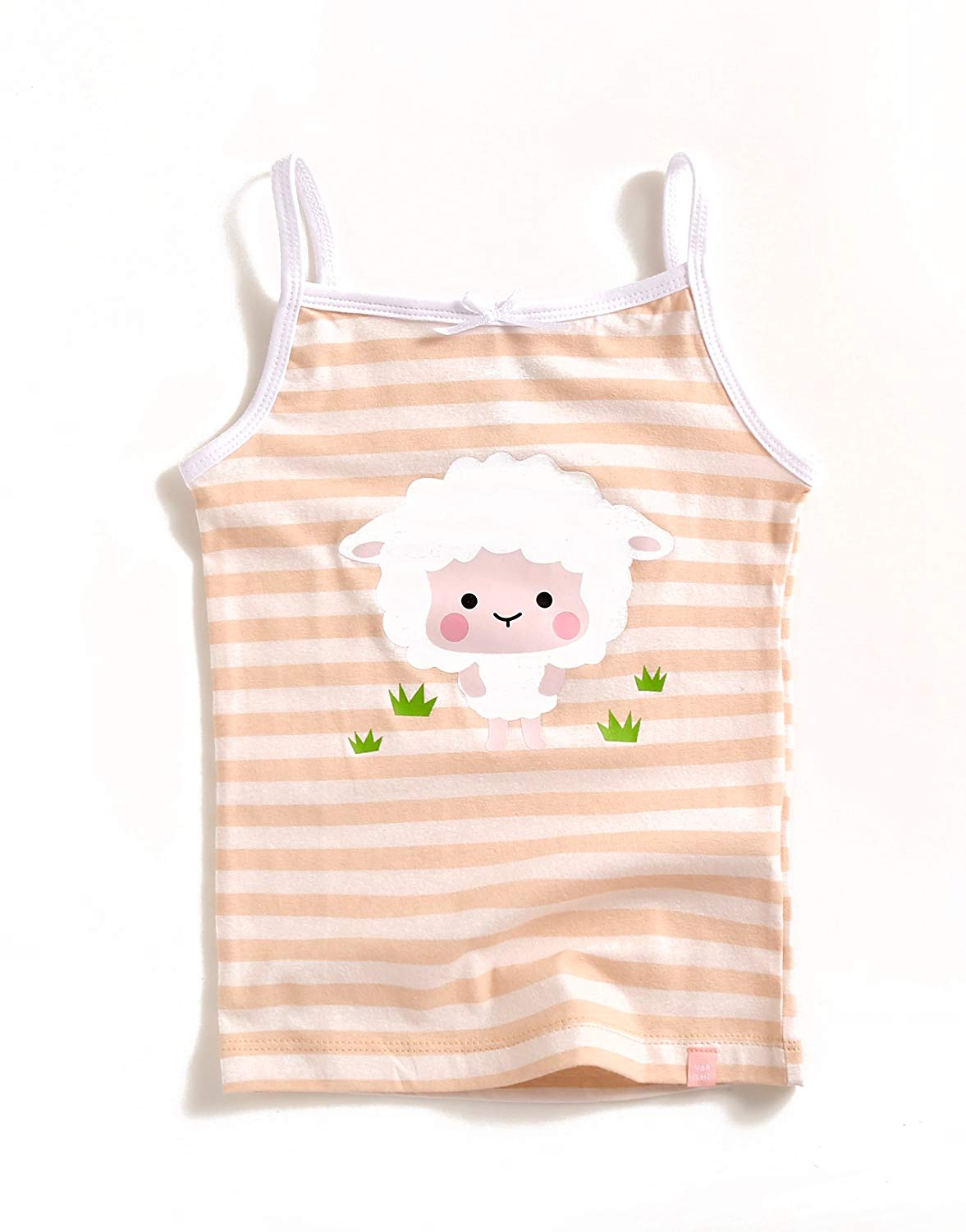 Lamb Stripe Sleeveless Tank Top