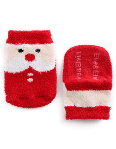 Christmas Fuzzy Fur Socks