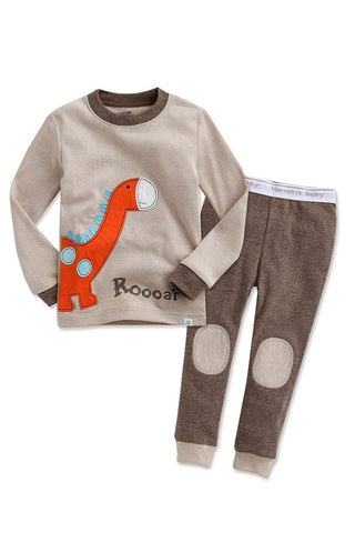 Roar Dino Long Sleeve Pajama Set