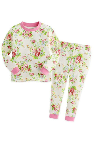 Iris Pink Long Sleeve Pajama Set