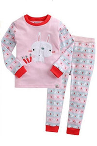 Carrot Sha Sha Long Sleeve Pajama Set