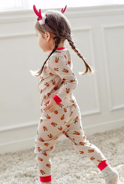 Rudolph Long Sleeve Pajama Set