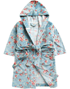 Flower Blue Robe