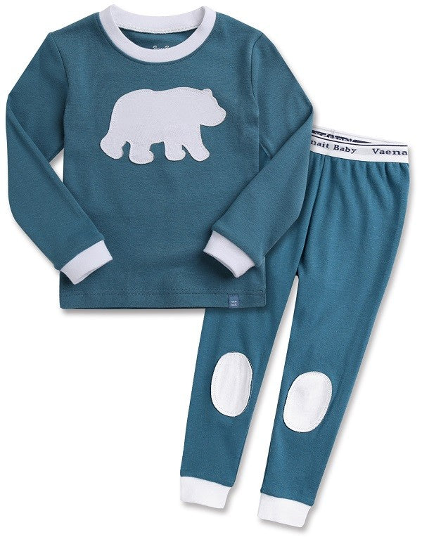 Bono Bear Long Sleeve Pajama Set
