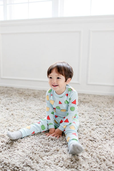 Shaped Long Sleeve Pajama Set