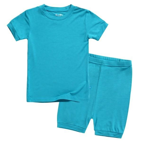 Colorful Short Sleeve Pajama Set
