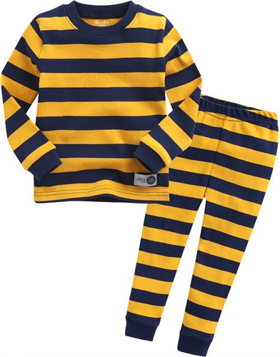Magic Stripe Long Sleeve Pajama Set