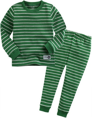 Pen Stripe Long Sleeve Pajama Set