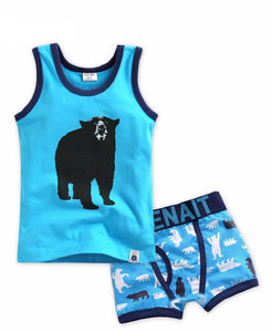 Bear Under Shirt & Boxer Set