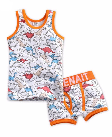 Jurassic Under Shirt & Boxer Set
