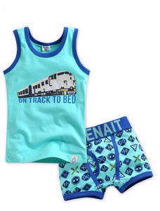 Train Under Shirt & Boxer Set