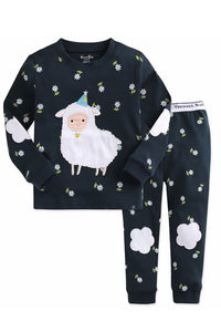 Lamb Long Sleeve Pajama Set