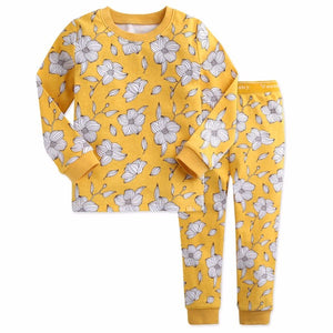 Floral Bloom Long Sleeve Pajama Set
